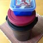 給食代替えお弁当箱。うちはこんなのを使っています。